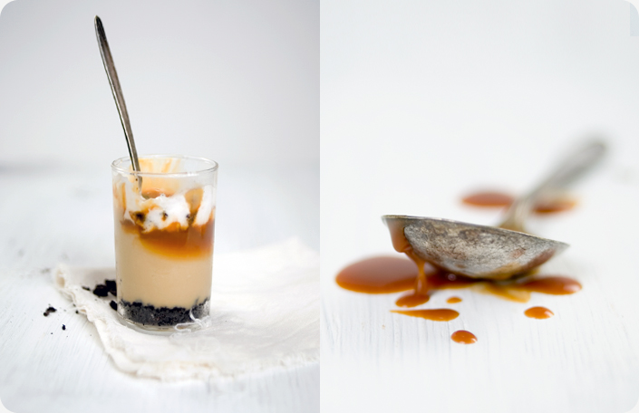 Recipe Cards - Caramel Budino with Salted Caramel Sauce Source...