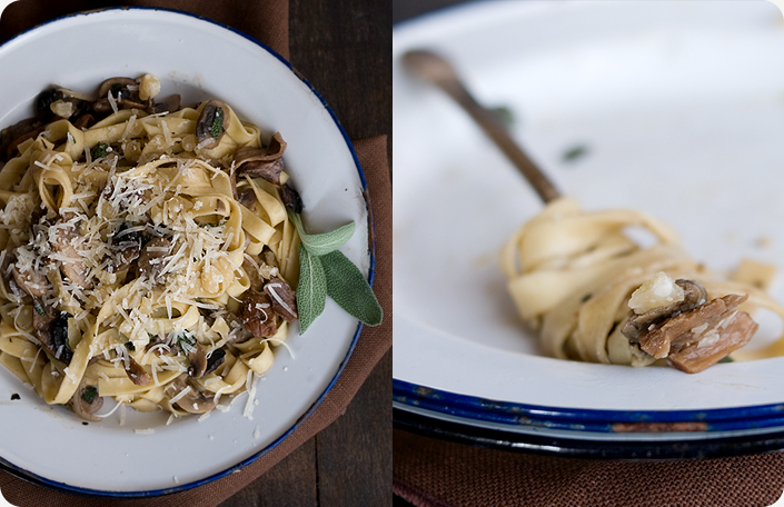 Porcini truffle oil pasta recipe
