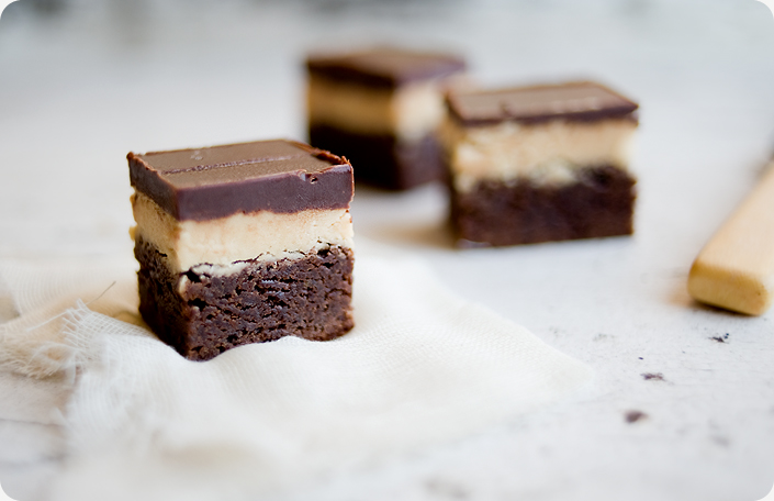Some Kitchen Stories Peanut Butter Truffle Brownies Recipe