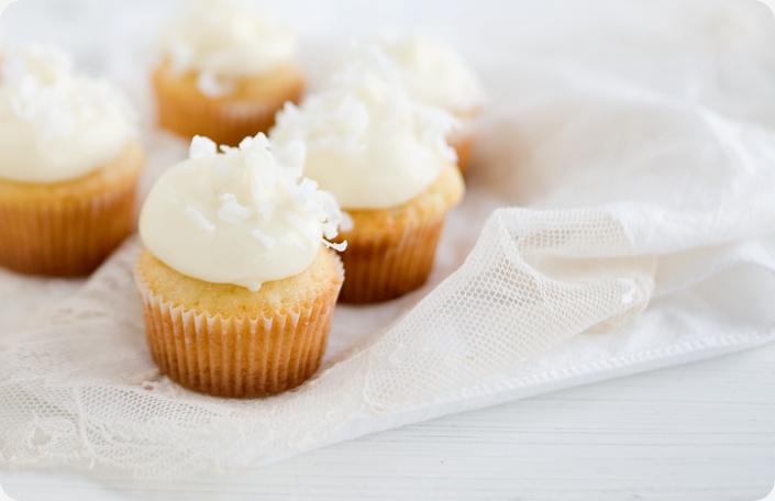 Coconut Cupcakes Recipe — Dishmaps