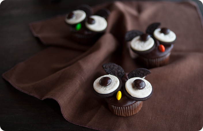 Some Kitchen Stories Cookies N Cream Owl Cupcakes