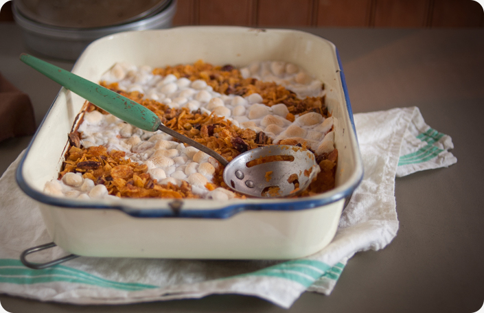 Thanksgiving Recipes: Traditional Sweet Potato Casserole