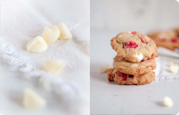 Some Kitchen Stories White Chocolate Peppermint M M Cookies