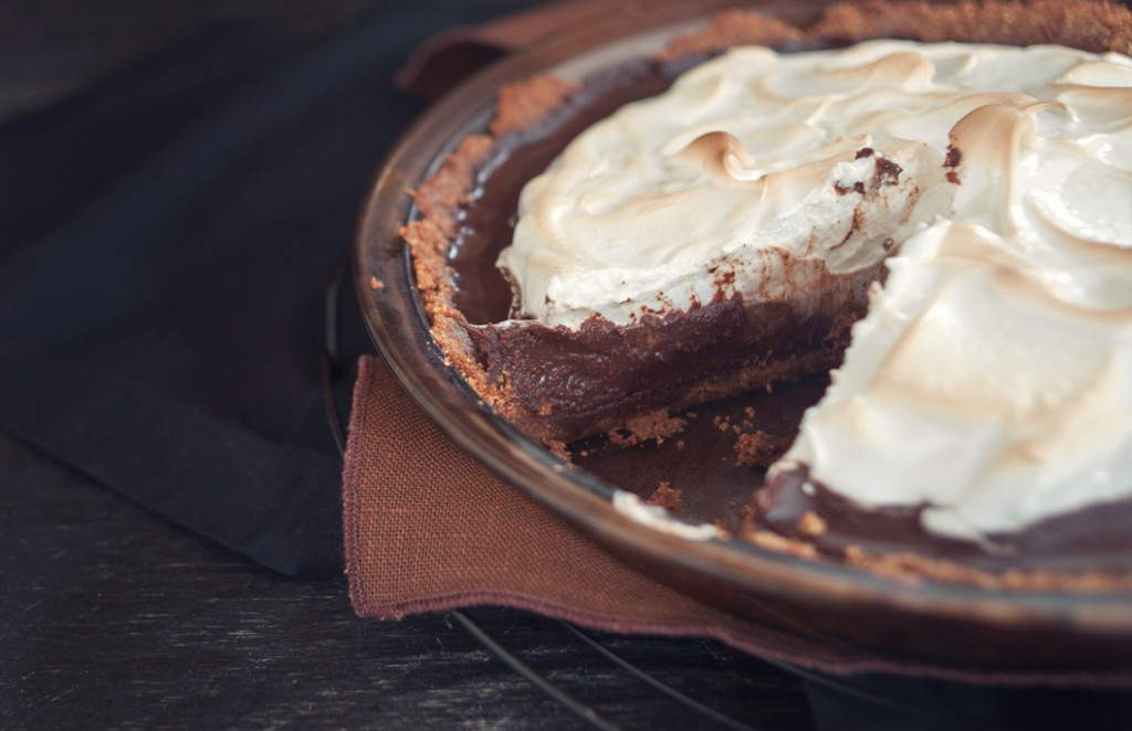 Coffee S'More Pie