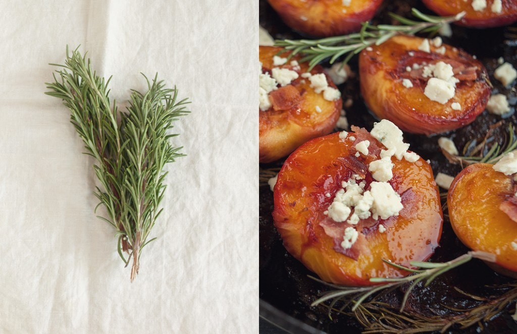 Roasted Peaches from Some Kitchen Stories