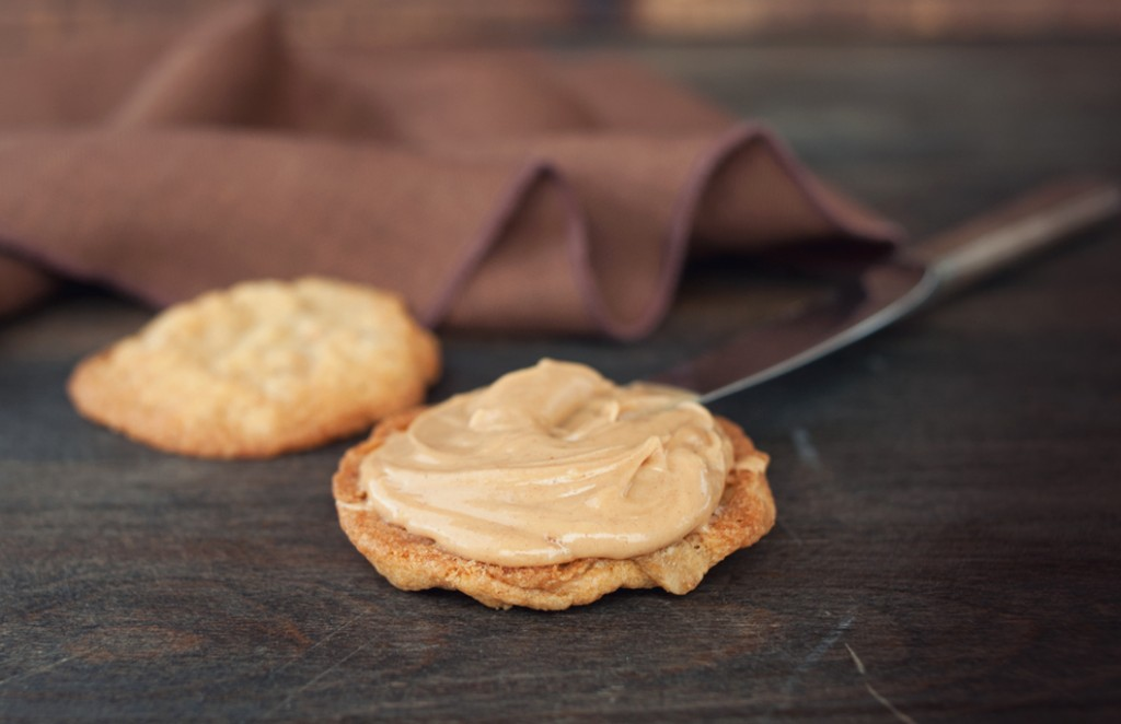 Peanut Butter Sandwich Cookies from Some Kitchen Stories