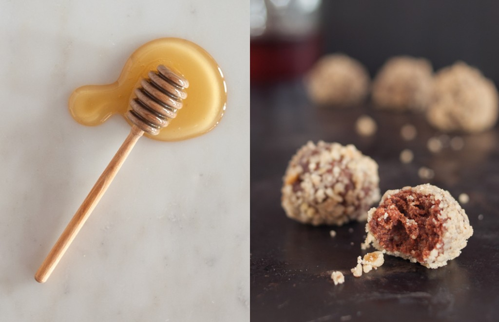 Bourbon Balls from Some Kitchen Stories