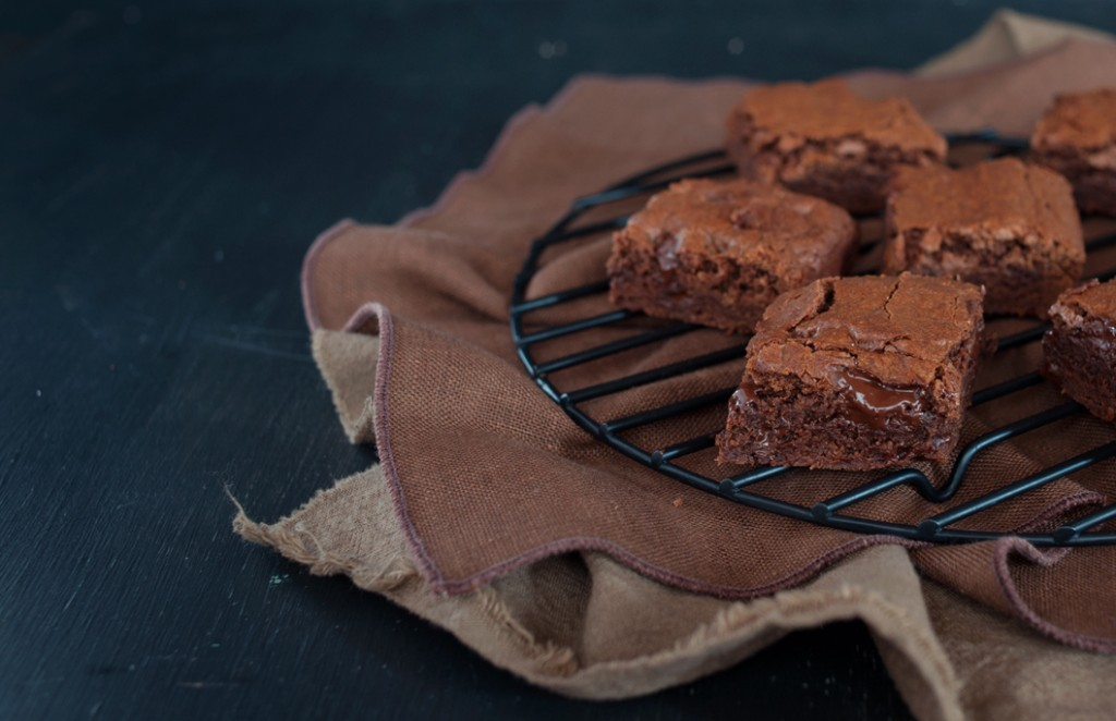 Double Chocolate Brownies from Some Kitchen Stories