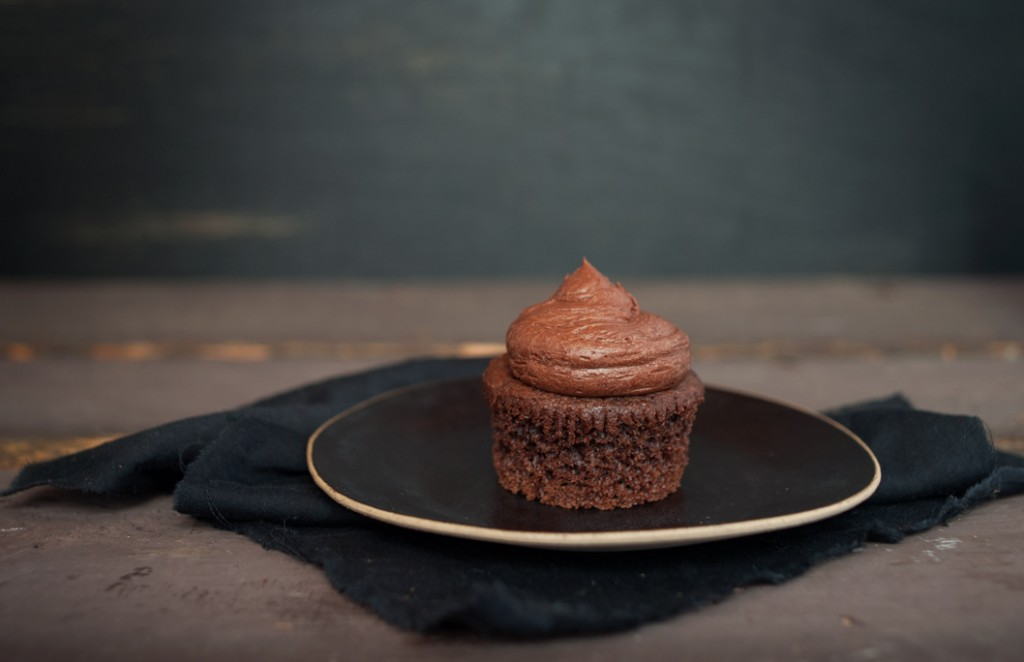 Chocolate Mascarpone Cupcakes from Some Kitchen Stories