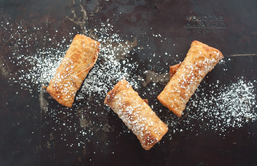 Fried Cookie Dough Egg Rolls