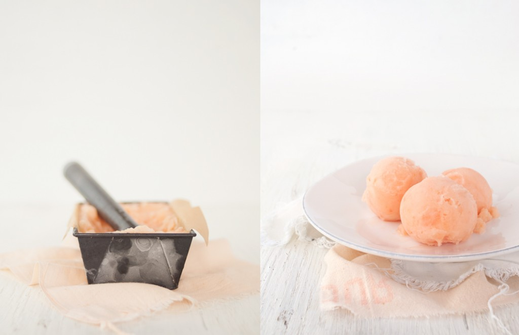 Grapefruit Sorbet from Some Kitchen Stories
