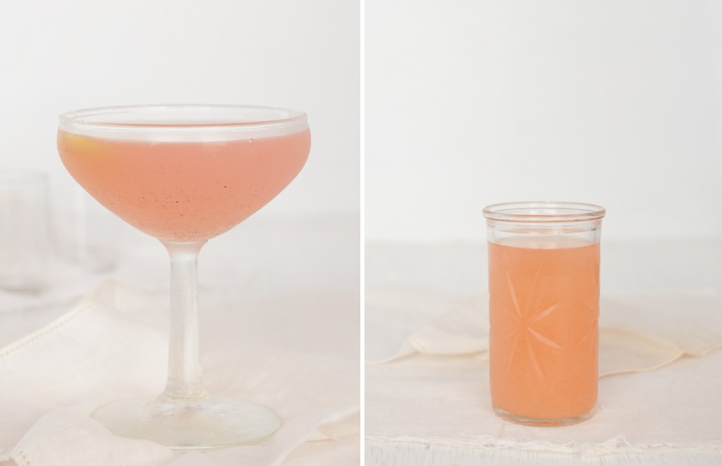 Rhubarb Vanilla Cocktail