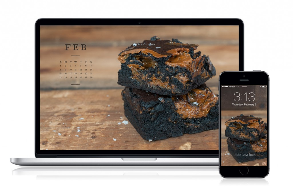 Free February 2015 calendar from Some Kitchen Stories