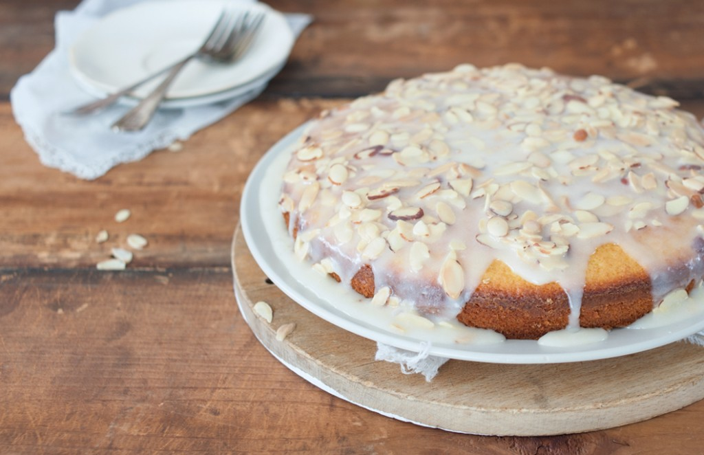 Almond Olive Oil Cake with Brown Butter Glaze // Some Kitchen Stories