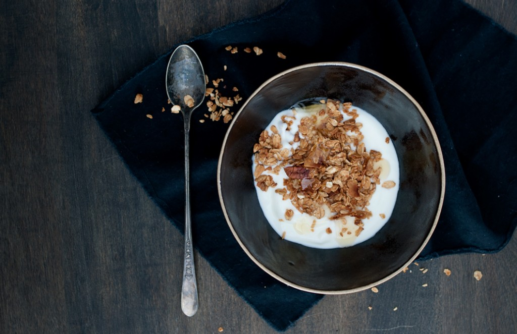 Maple Granola from Some Kitchen Stories
